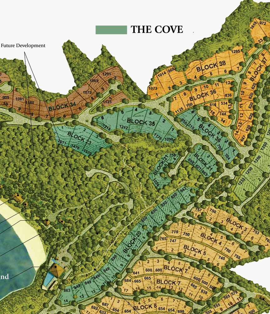 Sitemap: The Cove